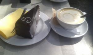 Sacher&cappuccino