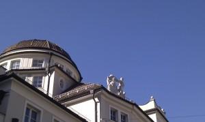 Kurhaus blue sky