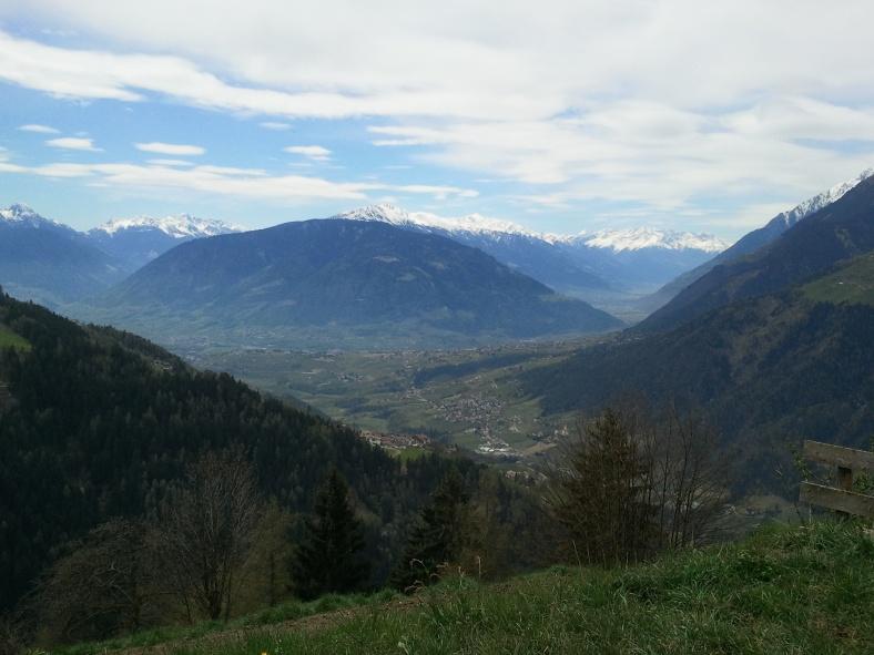 Vista dal Boarbichl